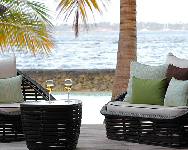 Deluxe Pool Villa Balcony
