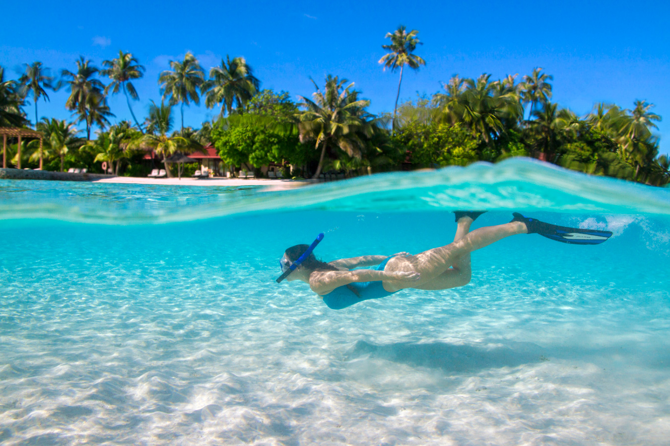 Snorkelling in the Maldives Islands image | Kurumba Maldives Lagoon