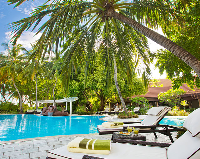 Kurumba Maldives Poolside Image | Maldives Island Resort