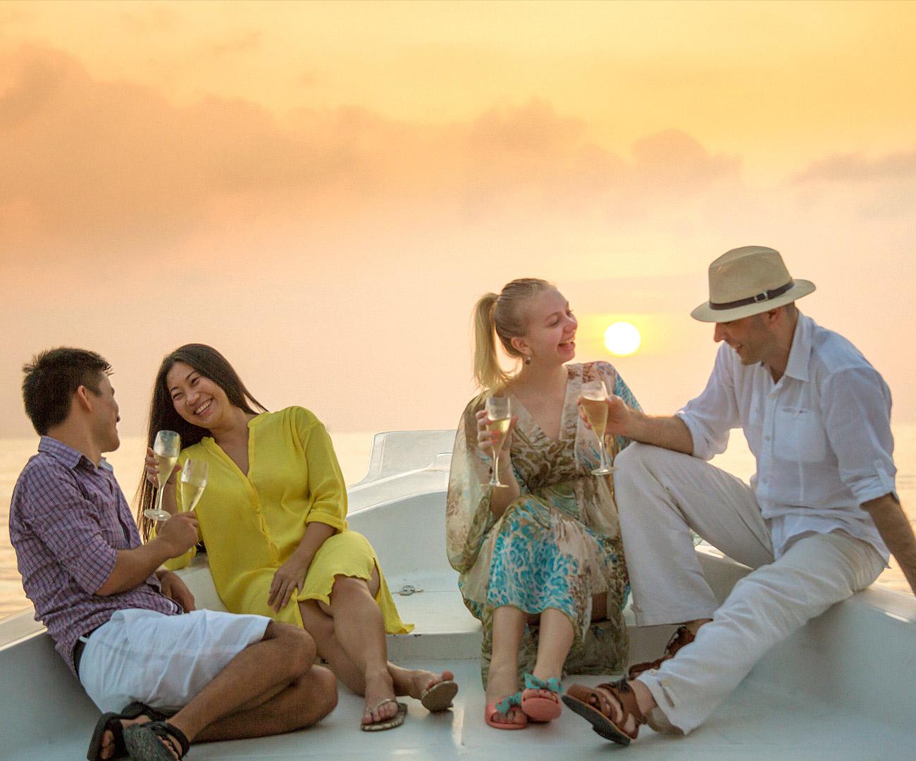 Maldives Island Excursions | Sunset Cruise  Image | Kurumba Maldives