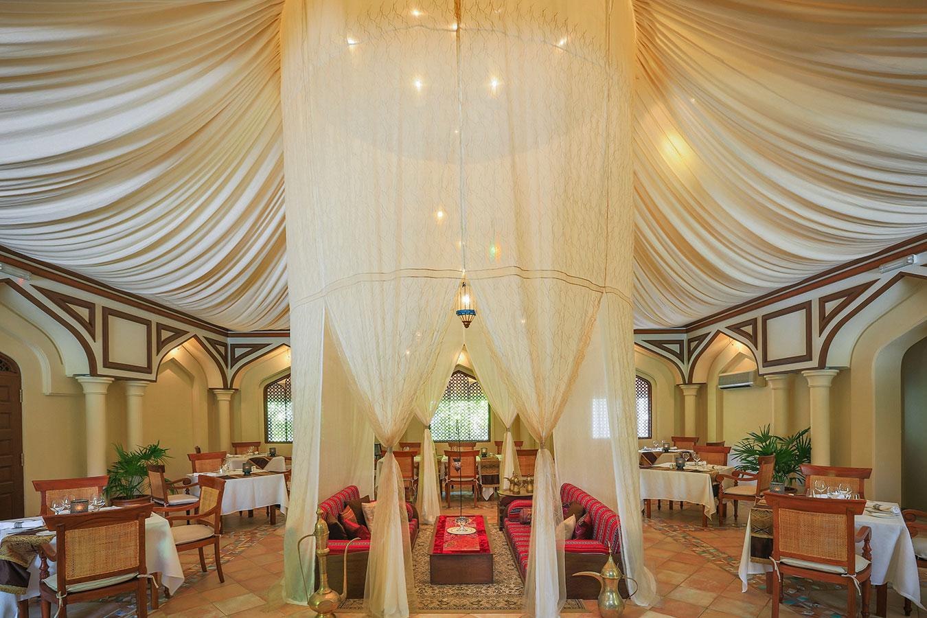 Middle Eastern Restaurant - Kurumba Maldives Resort