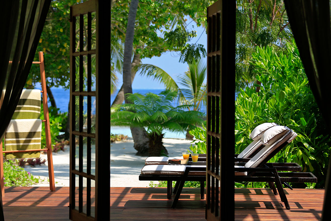 Kurumba Maldives - Presidential Pool Villa - Balcony Image - Maldives Resorts