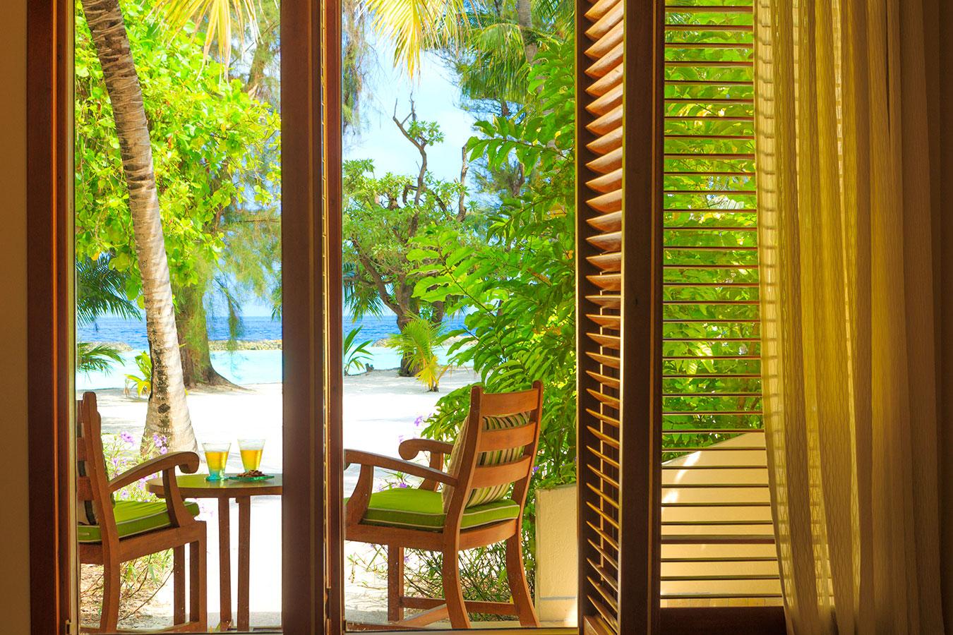 Kurumba Maldives - Deluxe Room Balcony image  - Maldives Resort