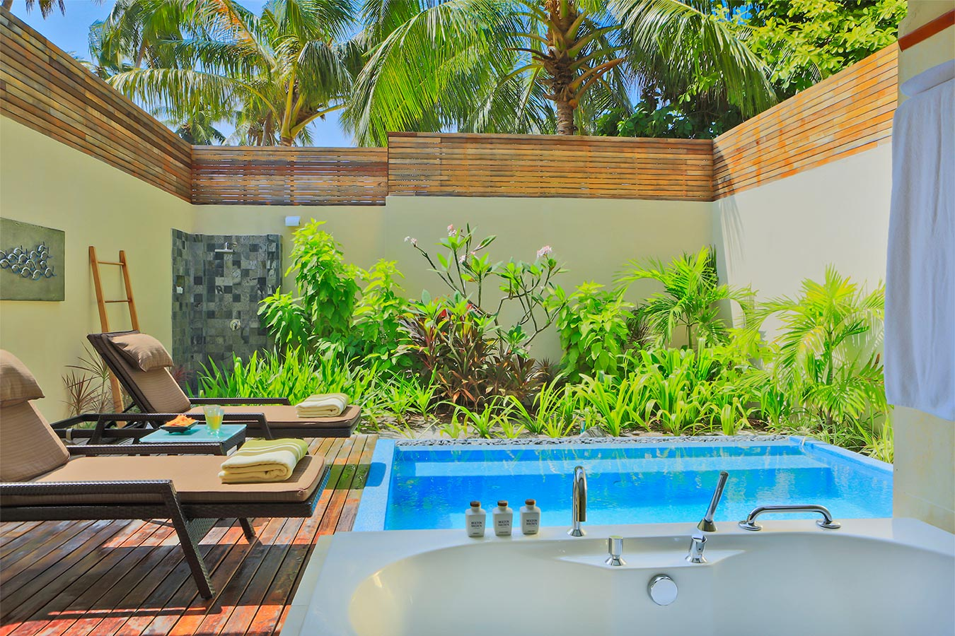 Kurumba Maldives - Garden Pool Villa - Private Pool Image - Maldives Resort