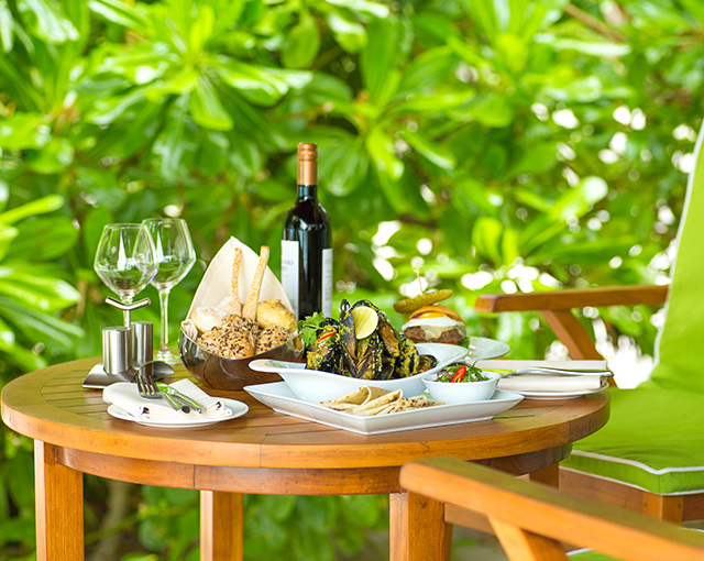 In Villa Dining Image - Kurumba Maldives