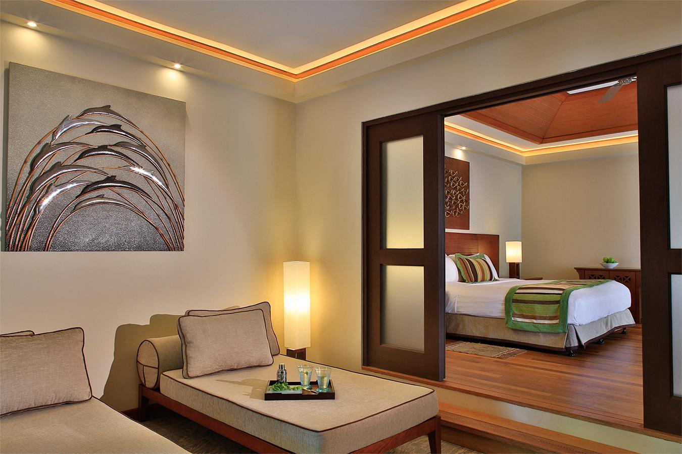 Kurumba Maldives - Garden Pool Villa Lounge Image - Maldives Resort