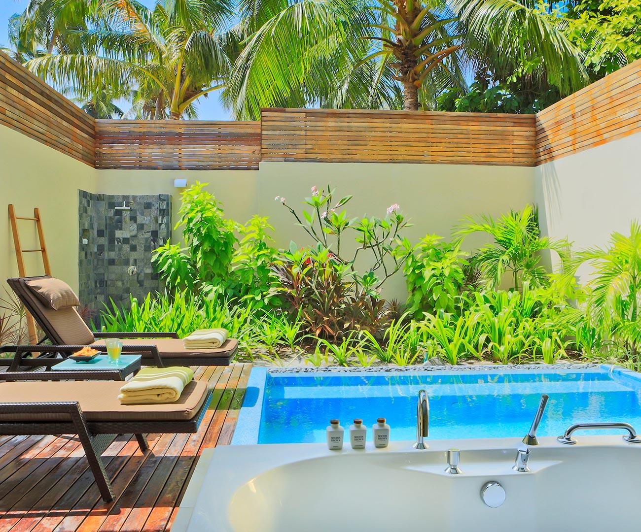 Kurumba Maldives - Garden Pool Villa - Private Pool Image - Maldives Resort