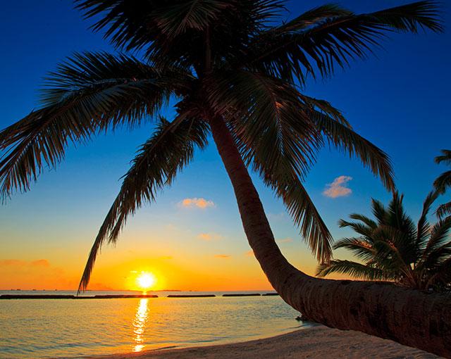 Kurumba Maldives Stunning Sunset Image | Maldives Islands