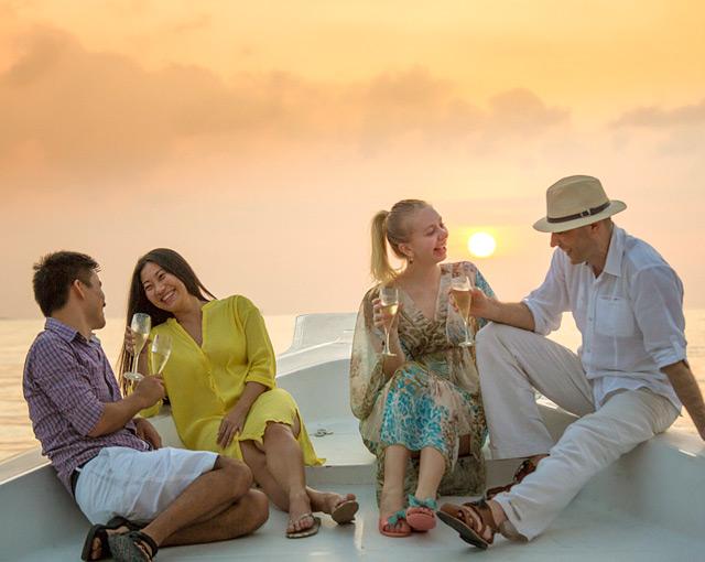 Maldives Island Excursions | Sunset Cruise | Kurumba Maldives