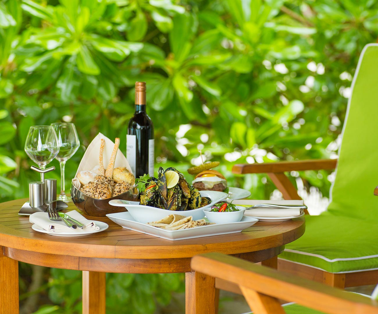 In Villa Dining Image - Kurumba Maldives