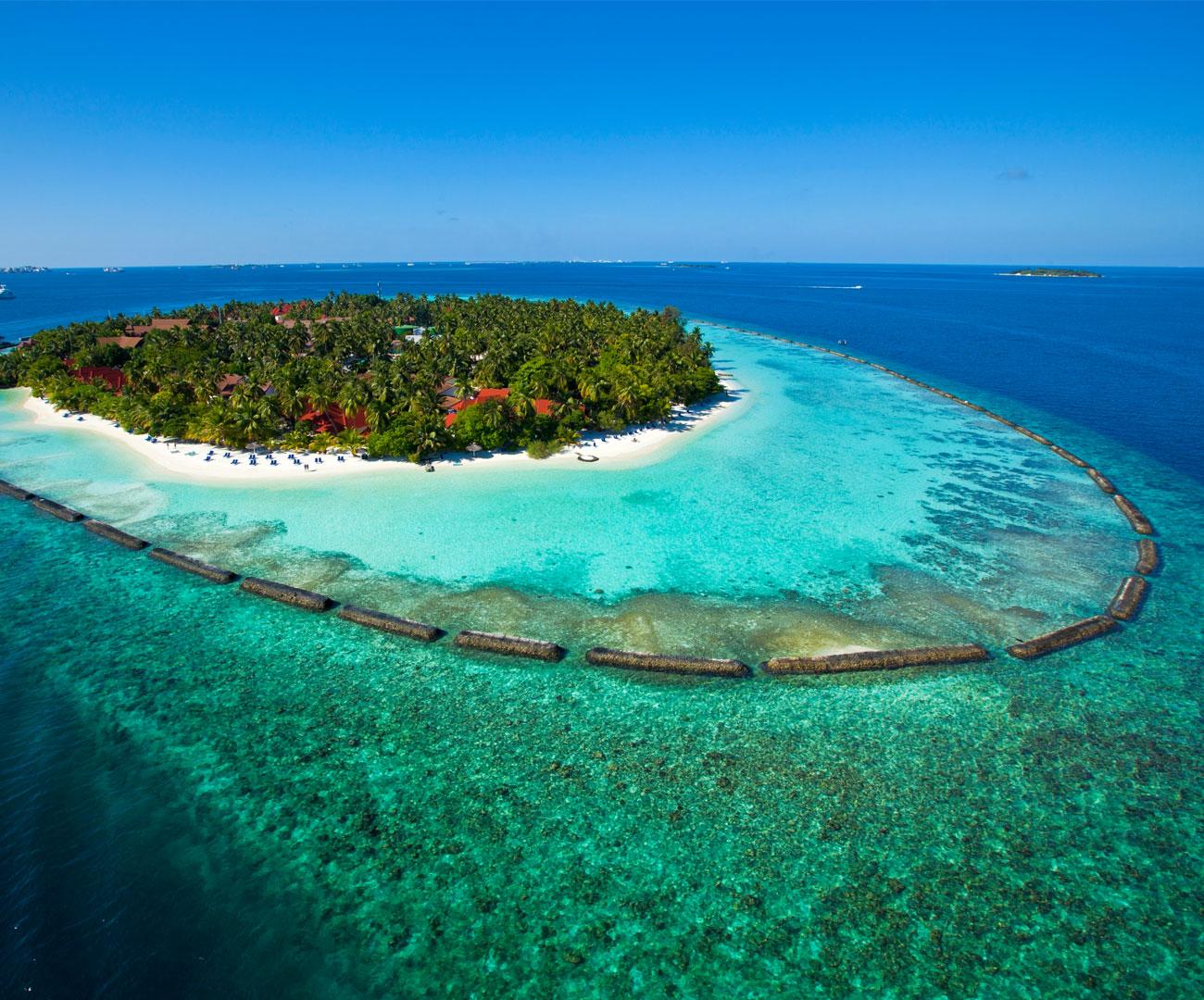 Kurumba Maldives Resort Map