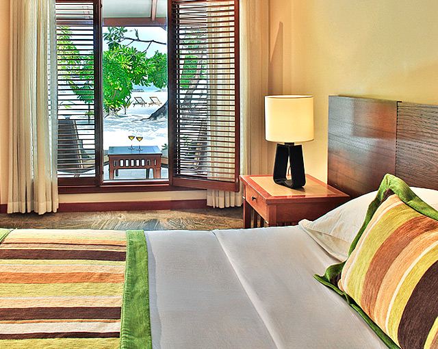 Kurumba Maldives - Deluxe Room Bedroom image  - Maldives Resort