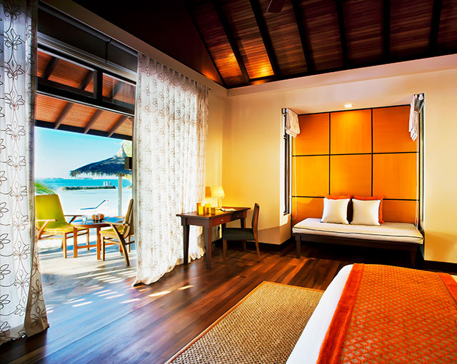 Beachfront Deluxe Bungalow Image | Kurumba Maldives resort