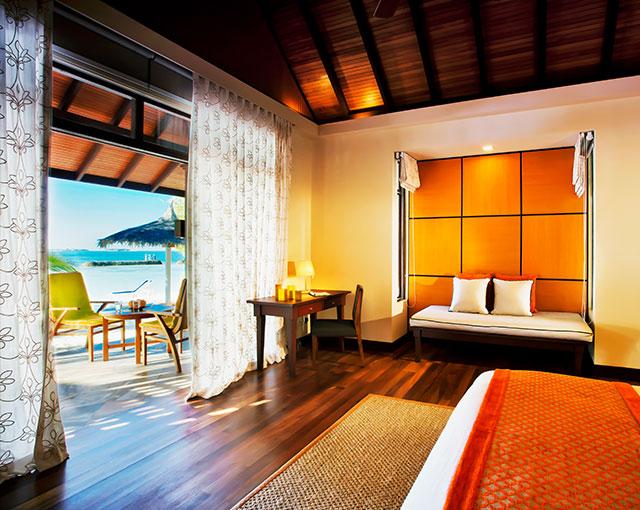Beachfront Deluxe Bungalow Image | Kurumba Maldives resort