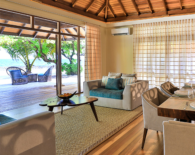 Kurumba Maldives - Two Bedroom Kurumba Residence Lounge Image - Maldives Resorts Pool Villa