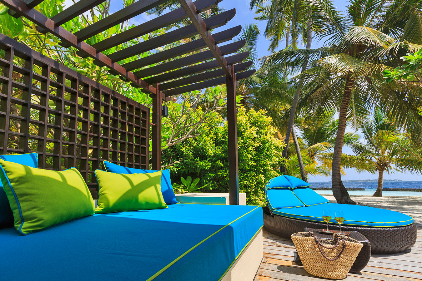 Kurumba Maldives - Two Bedroom Kurumba Residence Balcony and View  Image - Maldives Resorts Pool Villa