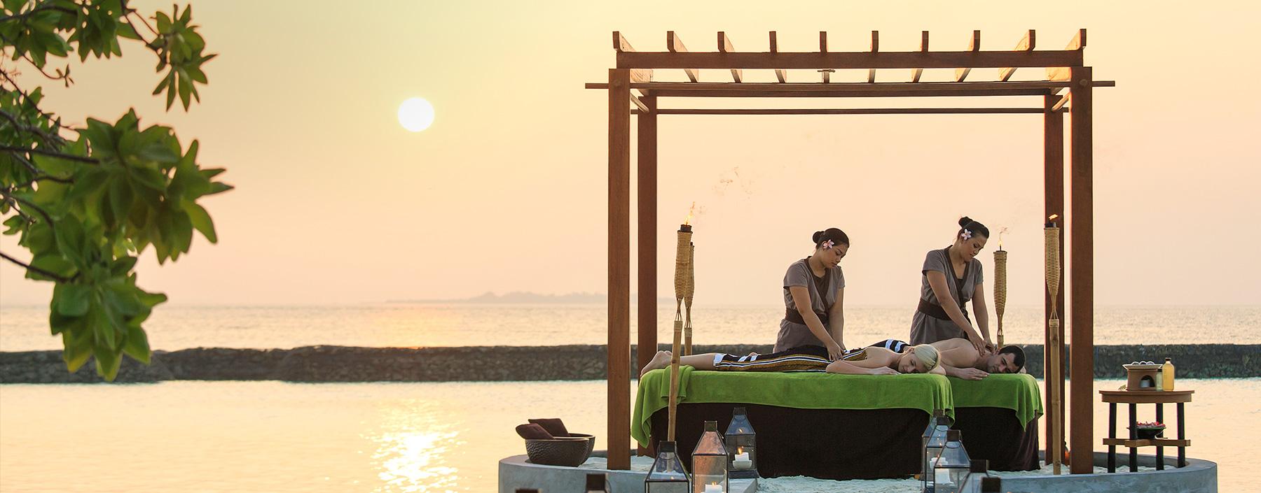 Kurumba Maldives Outdoor Spa Treatments