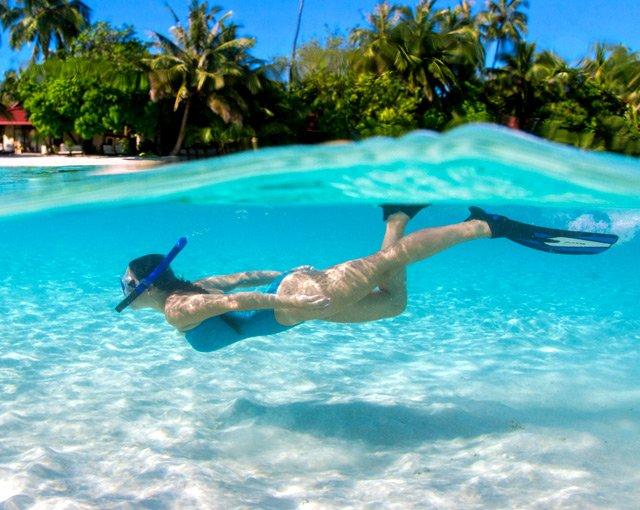 الصورة الغوص في  جزر المالديف | البحيرة  في كورومبا المالديف