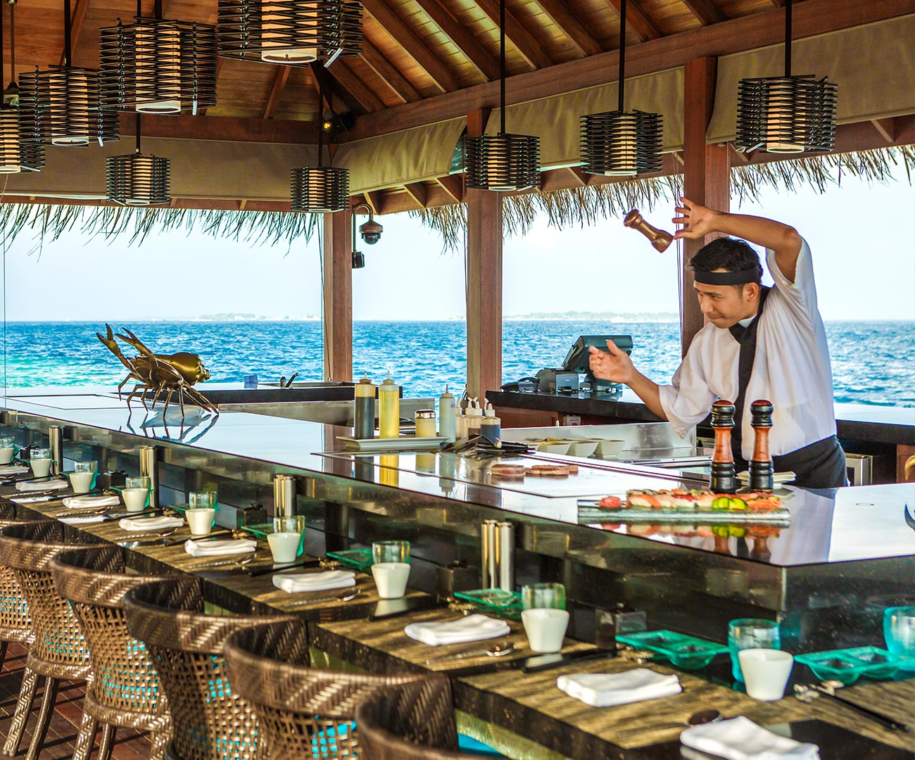 Kurumba Maldives - Japanese Restaurant Image - Maldives Resort