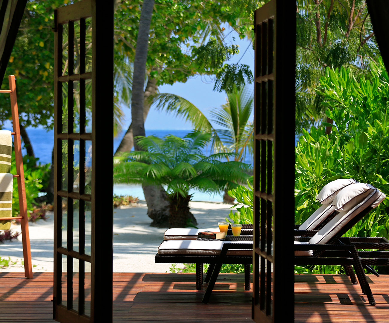 Kurumba Maldives - Presidential Pool Villa - Balcony View Image - Maldives Resorts