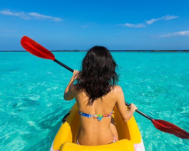 Water Sports - Kayak Kurumba Maldives Image