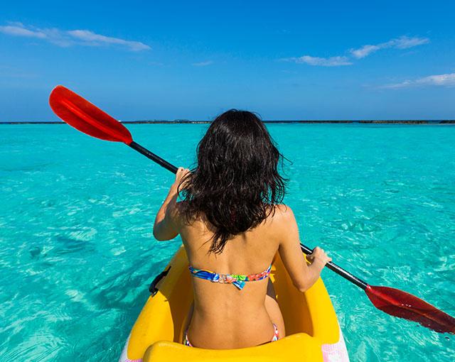 Water Sports - Kayak Kurumba Maldives Image
