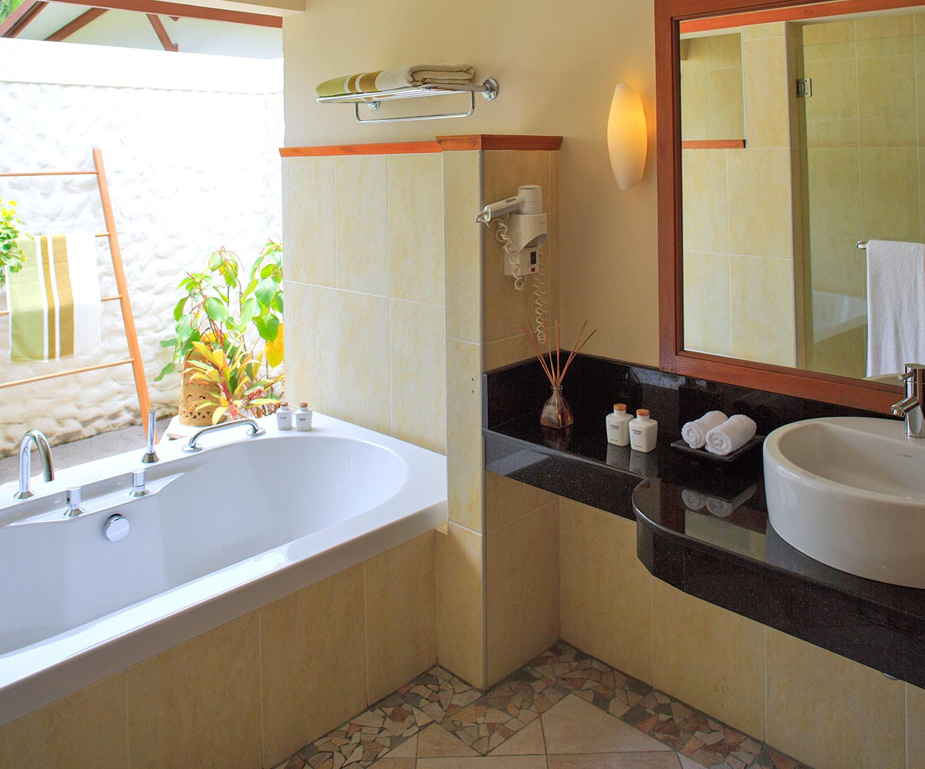 Kurumba Maldives - Deluxe Room Bathroom Image  - Maldives Resort