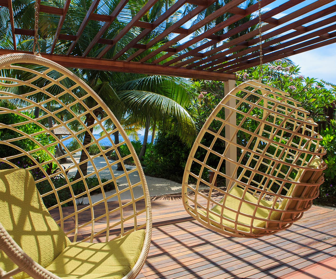 Kurumba Maldives - Family Villa - Balcony Image - Maldives Resorts