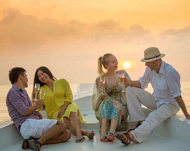 Sunset & Dolphin Discovery Cruise Cruise Image | Kurumba Maldives