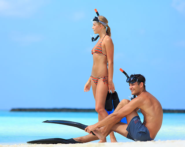 Maldives activities |Snorkelling Image | Kurumba Maldives Resort