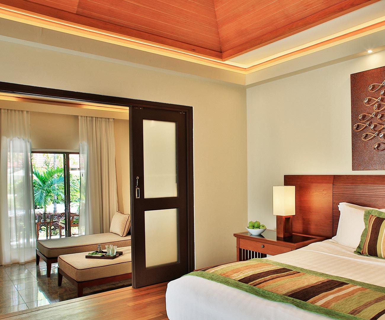 Kurumba Maldives - Garden Pool Villa Bedroom Image - Maldives Resort