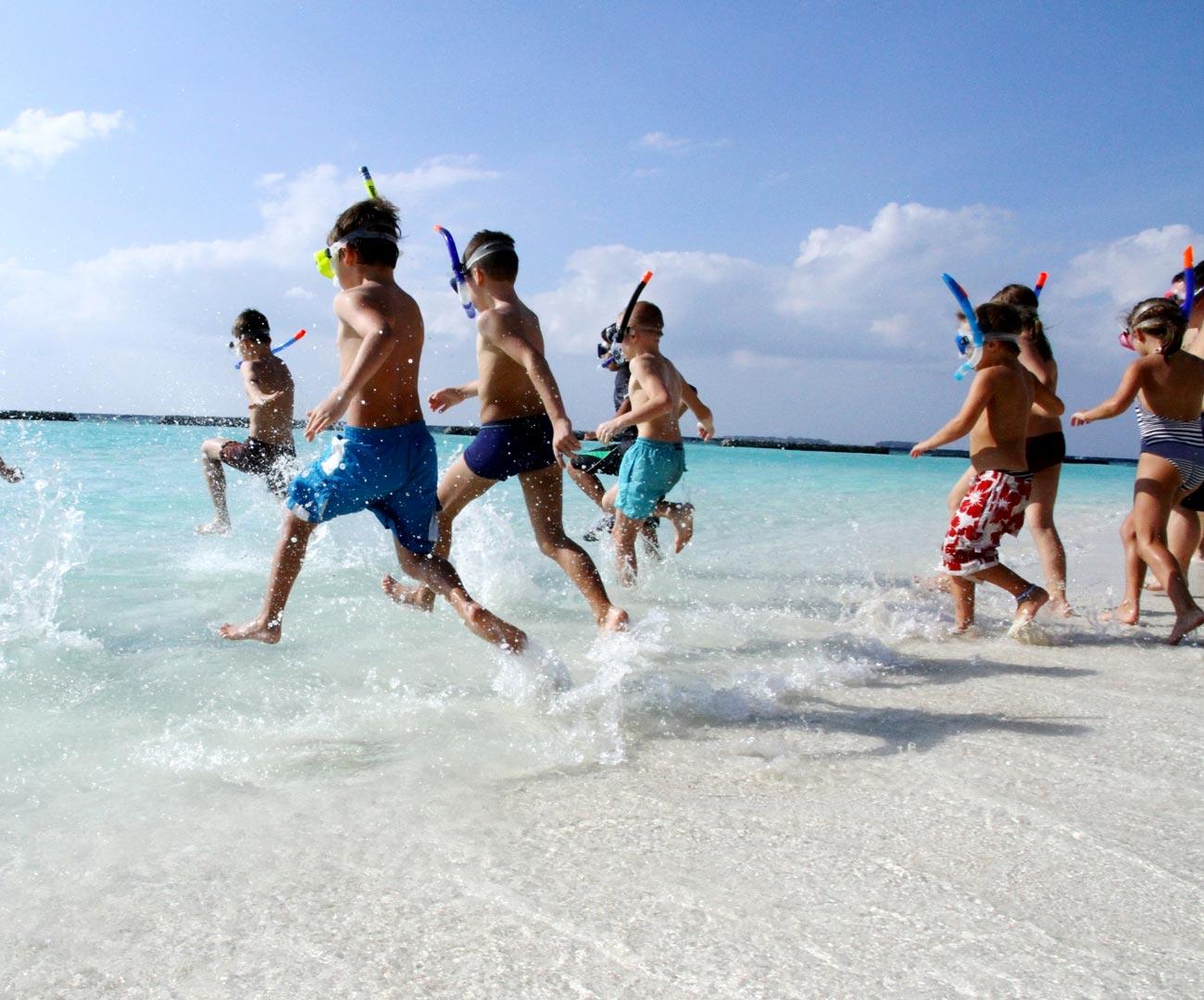 Maldives Kids Club Outdoor Activities Image | Kurumba Maldives Resort