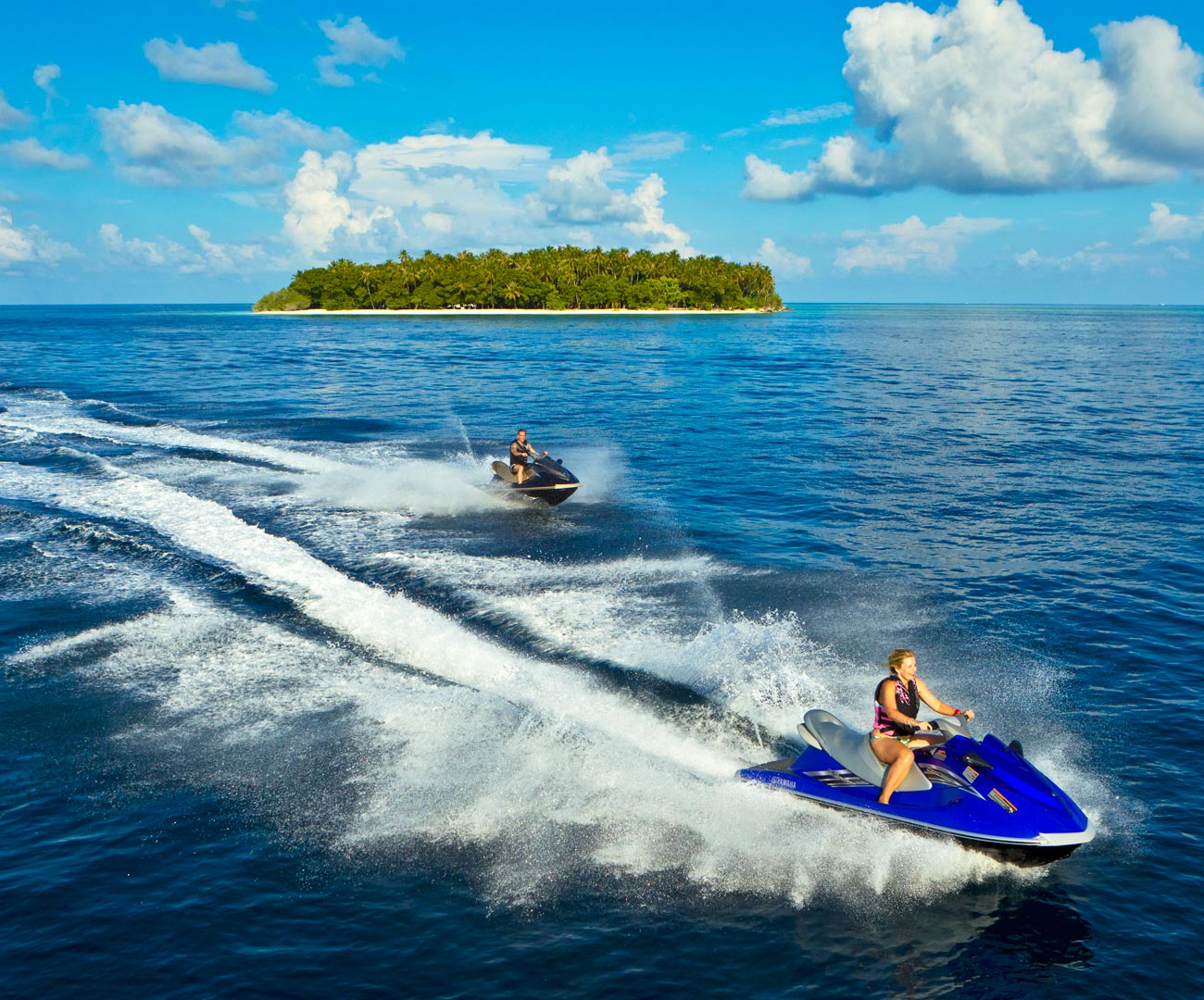 Jet Skiing in the Maldives Image | Kurumba Maldives Watersports