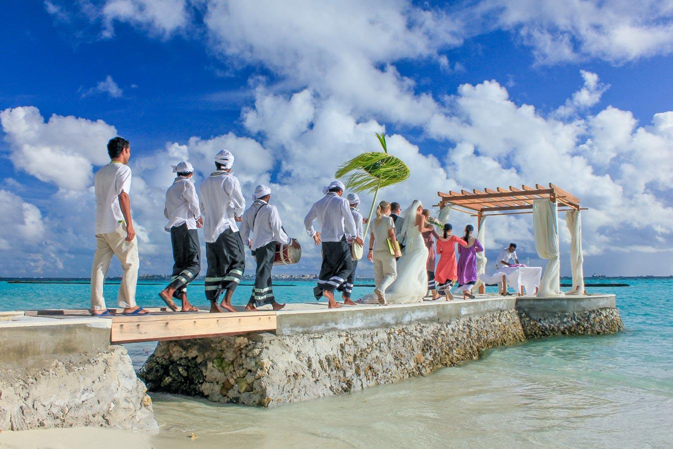 Maldives Resort Island Wedding Image | Kurumba Maldives