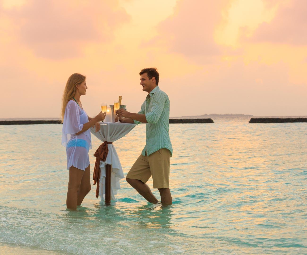 Tasting in the Lagoon Image  | Social Events at Kurumba Maldives