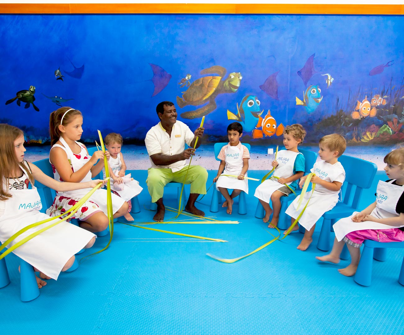 Maldives Family Resorts Majaa Kids Club Kurumba Maldives