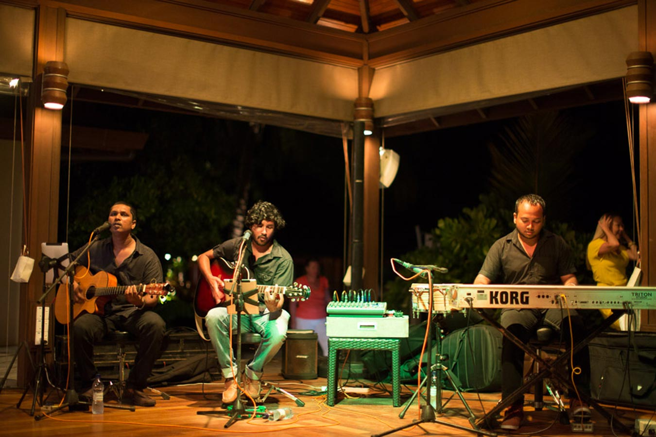 Live Band Image | Live Music in Kurumba Maldives