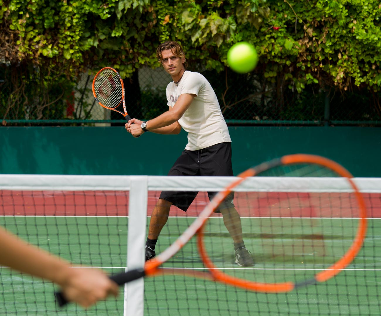 Tennis Courts Image   Kurumba Maldives Resort