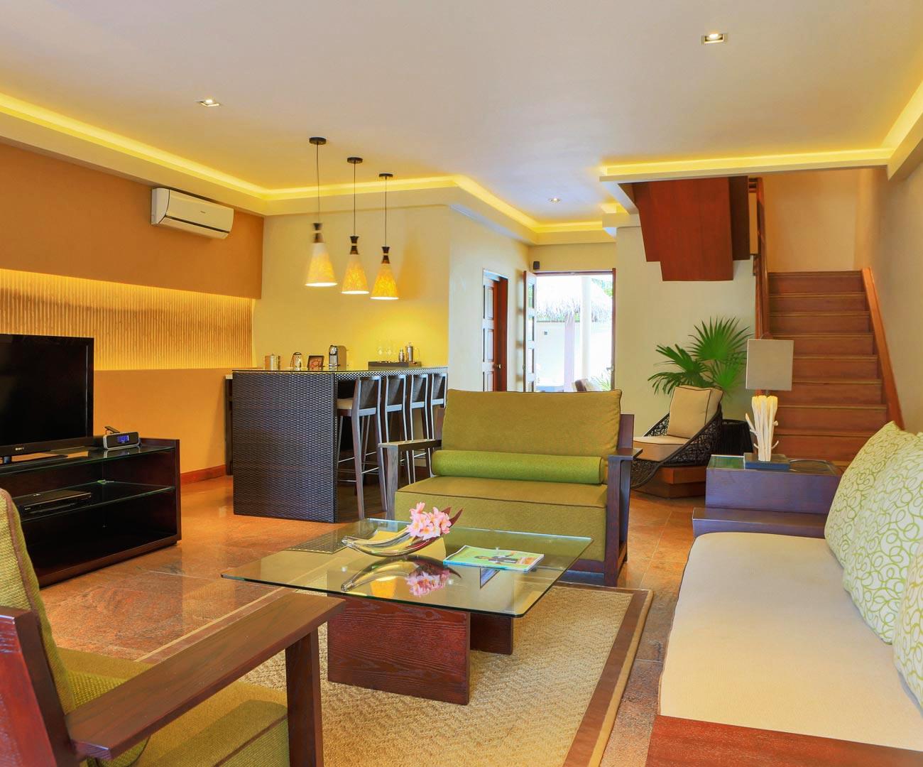 Kurumba Maldives - Presidential Pool Villa - Lounge Image - Maldives Resorts