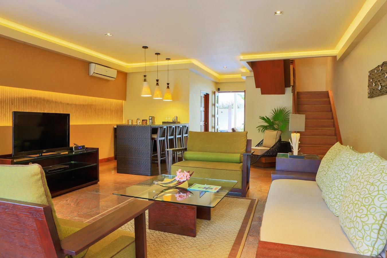 Kurumba Maldives - Family Villa - Lounge Image - Maldives Resorts