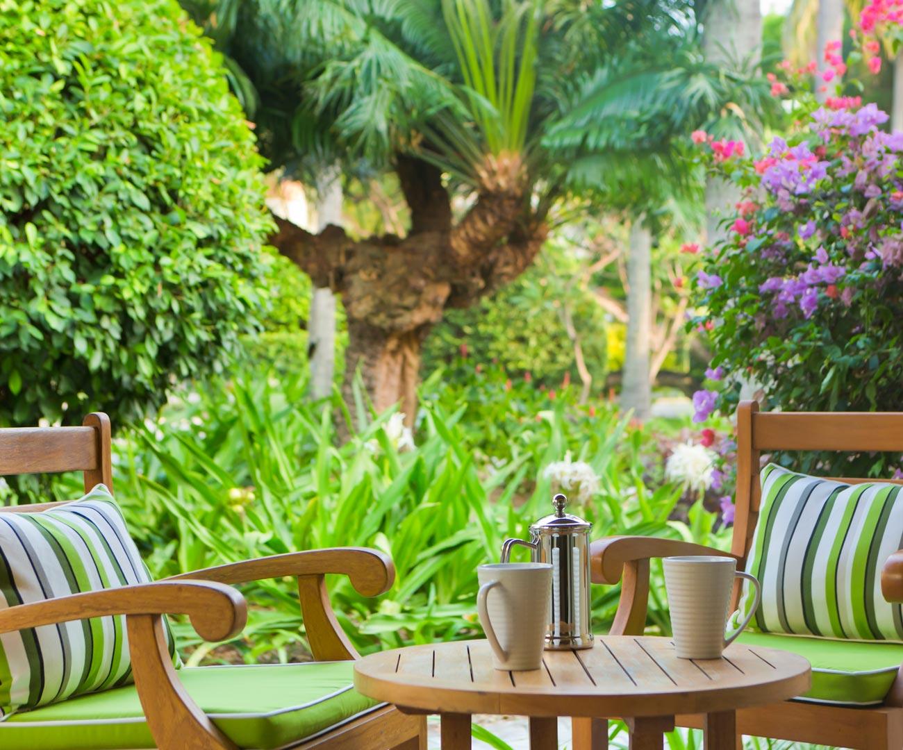 Kurumba Maldives - Garden Pool Villa - Balcony and View Image - Maldives Resort