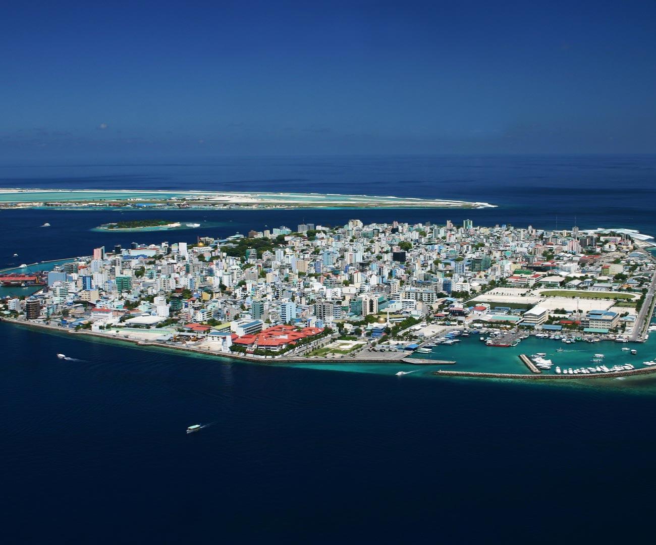 Male' - Maldives capital city