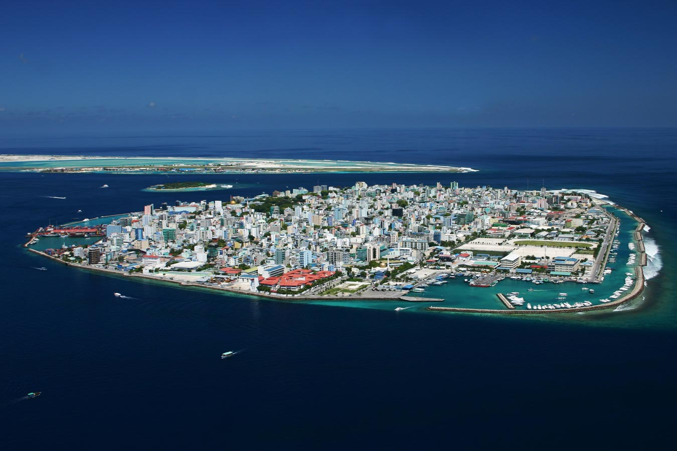Male' - Maldives capital city